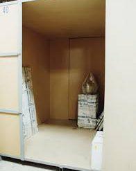 ¿Qué objetos pueden almacenarse en un guardamuebles?